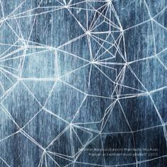 3.1415 - SCAR #generative #geometry #wood #art #oil