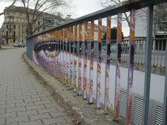 Hidden Railing Street Art12 640x479 #guerillia #picture #nice