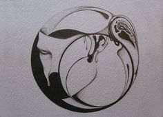 Untitled | Flickr - Photo Sharing! #abstract #face #circle #drawing
