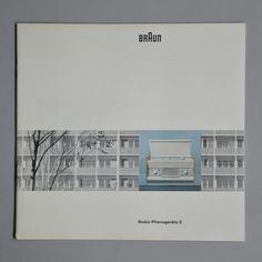 Braun Radio-Phonogerate 2 pamphlet Wolfgang Scheitel 1959 via www.dasprogramm.org