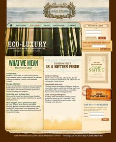 Bamboo Provisions #interactive #vintage #texture