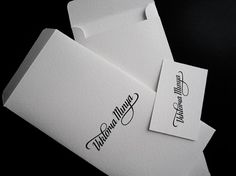 Onestep Creative - The Blog of Josh McDonald » Viktoria Minya #logo #paperwork #script #branding