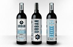 Urban Wine Works - The Dieline: The World\'s #1 Package Design Website -