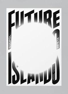 Future Island #print #poster