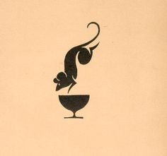 15 Recepta bibofilska. Kraków, 1934 (Society of... - Designers Go To Heaven #mark #mouse #geometric #illustration #cup