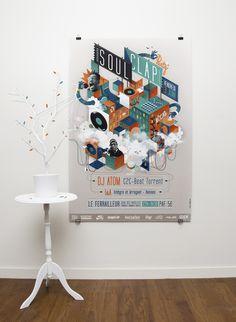 soulclap affiche #illustration #poster