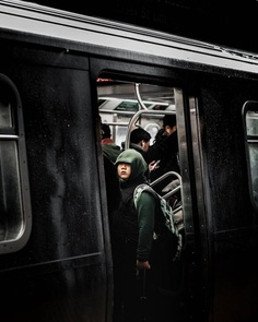 Cinematic Photos of Random Strangers in NYC by Colin Ridgway