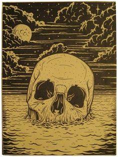 tumblr_lun309vTsn1qiqk65o1_500.jpg 500×663 pixels #skull #drawing
