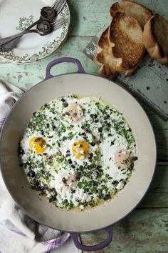 greek_baked_eggs #egg