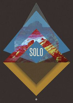Solo Poster by Oslo #a3 #geometry #solo #photo #oslo #poster