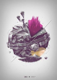 Altered by ~chemical-nos on deviantART #digital #slashthree #graphic #art