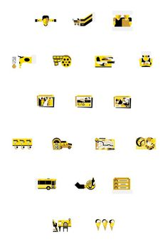 Nido mag illustrations | La Tigre #sign #icons #picto #symbol #pictograms