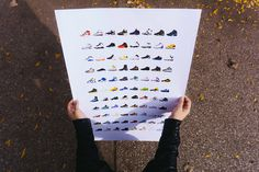 Wavvy Collective Sneaker Poster by Nico Gibson