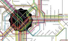 Schemat Komunikacji Miejskiej Gliwice | venedi - now, create new - agencja reklamowa, agencja fotograficzna, sklep firmowy, studio, nation, #infographic #map #jaktokto #comunications #venedi