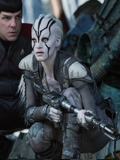 Sofia Boutella Star Trek Beyond Jaylah Stylish Costume Vest