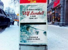 HFDP - Ulf Lundell vinterturné 2011 #sweden #rock #poster #music #tour #winter