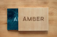 Amber book case by Max Olson #design #graphic #quality #typography