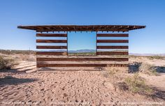 Lucid Stead: A Transparent Cabin Built of Wood and Mirrors by Phillip K Smith IIINovember 26, 2013 #mirror #transparent #house