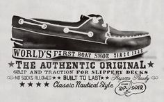Tumblr #boat #shoe #typography