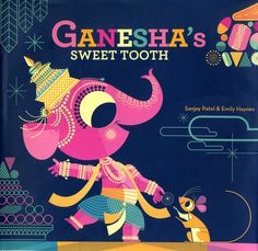 2_HaynesAndPatel #design #graphic #elephant #ganesha #illustration #character