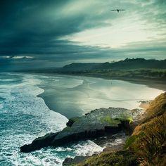 ignite light #sand #sea #dark #storm