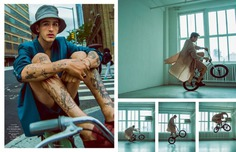 Easy Rider: Austin Augie for Man of Metropolis