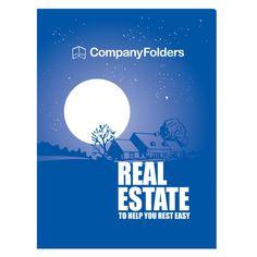 Peaceful Night Real Estate CD Folder Template