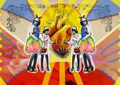 Volver. (2014) | Peperina Magenta #collage #art #arte #ilustration #ilustración #creative #amor #love #digital art #digital work #colour #c