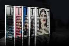 Tush magazine #cover #magazine #typography