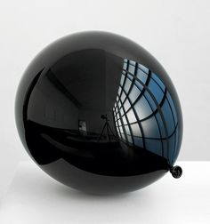 Jiri Geller #shiny #black #ballon
