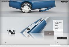 Panasonic Design Museum - Nicki Mayrhofer / Portfolio #website #panasonic #mayrhofer #nicki