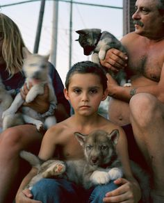 Jo Ann Walters - Dog Town #family #child #town #photography #puppies #dog
