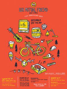 Omf anniversary poster