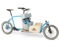 Porterlight's Customizable Cargo Bike