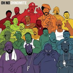 Oh No + Dolemite = Ohnomite | Stones Throw Records #oh #ohnomite #throw #stones #munka #illustration #charles #no
