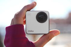 Mokacam is the world's smallest 4K cam. Bring it along on all of your #adventures for awesome ultra HD photos and videos! #productdesign #