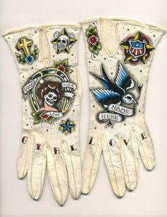Google Reader (297) #gloves #tattoos
