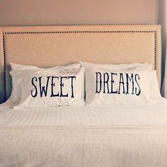 Sweet Dreams Pillow Case Set #tech #flow #gadget #gift #ideas #cool