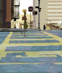 nhkb.jpg (JPEG Image, 651x765 pixels) #perspectives #streets #illustrations