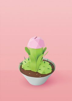 Varia — Design & photography related inspiration #cactus #paper #penis #art