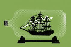 Yarek Waszul Illustration #illustration #ship #boat #waszul