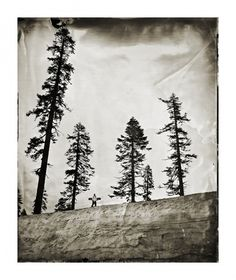 Ian Ruhter - Wet Plate #white #black #photograph #snowboard #and
