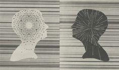Gavin Potenza — Telepathy #profile #line #potenza #head #telepathy #portrait #gavin #silhouette
