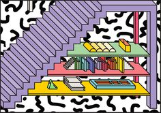Peter Judson #isometric #shapes #color