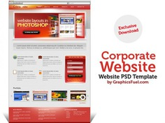 Corporate website psd template Free Psd. See more inspiration related to Template, Website, Corporate, Psd, Website template and Horizontal on Freepik.