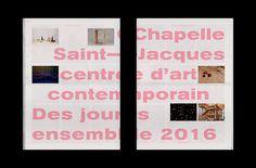 Des Jours Ensemble 2016 on Behance