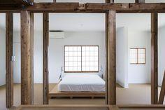 Bedroom. House in Hatogaya by Schemata Architects / Jo Nagasaka. Photo by Kenta Hasegawa. #minimal