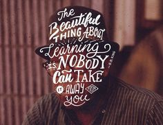 Learning Hand Lettering by Ian Barnard #lettering #quote #portrait #type #hand #typography