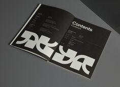 critical dialogues print design 01 #black #editorial