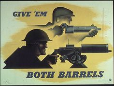 17-0733a | Flickr - Photo Sharing! #1940s #propaganda #ww2 #war #illustration #guns #poster #art #deco